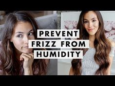 Airstyles Made Better by Frizz 2020 13 Ways to Prevent Frizzy Hair From Humidity Curled Hairstyles, Straight Hairstyles, Cool Hairstyles, Tips For Thick Hair, Frizzy Hair Tips, Luxy Hair Extensions, Peinados Pin Up, Voluminous Hair, Magic Hair