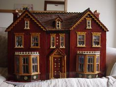 Hand Crafted Victorian Dolls House in Dolls & Bears, Dolls' Miniatures & Houses, Dolls' Houses | eBay