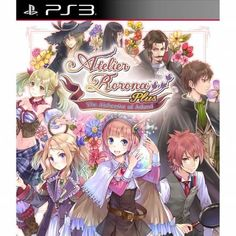 Atelier Rorona Plus: The Alchemist of Arland, PlayStation 3, Action/Adventure