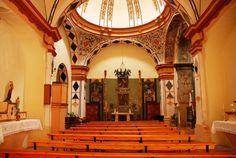 Ermita de Santa Quiteria, sin el retablo.