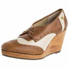 Zapato Oxford Vélez Miel