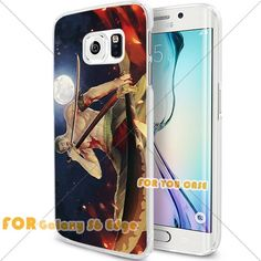 New OnePiece Anime Cartoon Manga Cell Phone48 S6 Edge Case, For-You-Case Samsung S6 Edge White Silicone Case Cover NEW fashionable Unique Design
