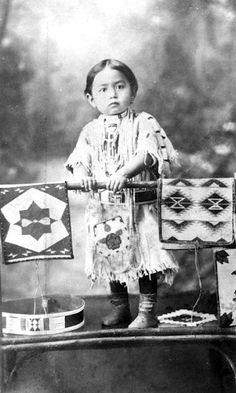 Nez Perce girl - circa 1915