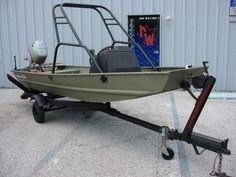 jon boat wakeboarding - Google Search …
