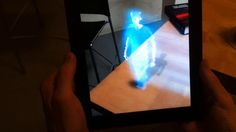 3d Video with Kinect and iPad by cc laan. We used the String Augmented Reality SDK to display real-time 3d video+audio recorded from the Kinect.