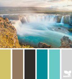 Colour fall