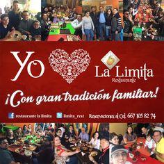 ¡Ven a La Limita Restaurante a disfrutar de nuestros ricos platillos y gran ambiente!! #yumi #familia #reunión #love #amigos #amigas #sabor #cariño #elmejorambiente