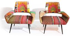 double chairs are like little sculptures!