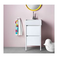 YDDINGEN Meuble lavabo 2tir  - IKEA