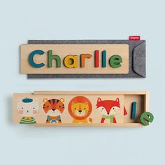 Combine education with good times – help your child learn to spell his or her name with our personalised name puzzles, or use our wooden numbers puzzles to teach them to count! Wooden Jigsaw Puzzles, Wooden Letters, Personalized Puzzles, Personalised Baby, Learn To Spell, Name Puzzle, Wooden Numbers, Wooden Storage Boxes, Finger Joint