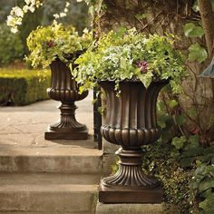 Tuscan Outdoor Planters - Bing images