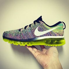 Nike Air Max Flyknit Multi-Color
