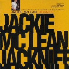 "Grunge, circa 1966: Photostat cut-n-paste #typography. ""Jacknife"" by Jackie McLean, on Blue Note. #jazz #design"