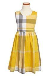 Burberry 'Anny' Sleeveless Dress (Little Girls & Big Girls)