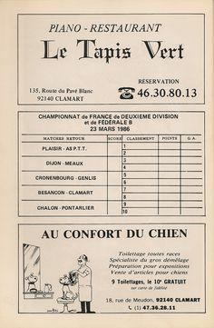 Calendrier 1985-1986 - 2ème Division - Page 36