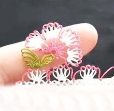 Havlu Kenarı İğne Oyası Modeli Yapılışı Rings, Floral, Flowers, Model, Ring, Scale Model, Jewelry Rings, Royal Icing Flowers