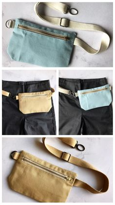 Craft Bags, Hip Bag, Fanny Pack, Messenger Bag, Sewing Projects, Pouch, Tote Bag, Knitting, Clothes