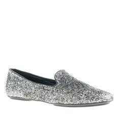 J.Crew Darby glitter loafer