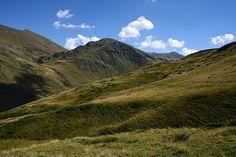 Beautiful wild mountain pass in Kosovo
