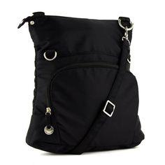 Ladies-Bag-Crossbody-bag-women-shoulder-handbag-Expandable-travel-bag-Black-new