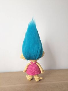Details *************************************************************************** This listing is for a PDF PATTERN (English) and not the finished troll. *************************************************************************** Crochet Smidge from the movie Trolls. This