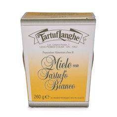 TartufLanghe - Miele con Tartufo Bianco - Acacia Honey with White Truffle Slices 9.2oz (260g)
