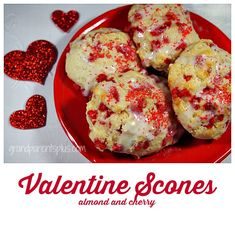 Valentine Scones  (quick and easy)