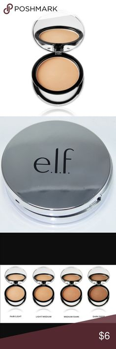 ELF Beautifully Bare Finishing Powder Create a flawless, natural look with this lightweight tinted powder. This silky formula provides light coverage and sets makeup, while also helping to mattify skin and minimize the appearance of fine lines. Using the sponge provided or with a blending brush, apply the powder all over the face in circular motions. ELF Makeup Face Powder