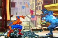 VALOROUS SPIDERMAN 2 - Controla a Spiderman y lucha contra el malvado Venom en este original juego en el que sólo necesitas mover el ratón para ejecutar todos los famosos golpes del hombre araña como lanzar telarañas o colgarte del techo.