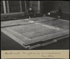 1945, Restoration. Civic guardsmen of Amsterdam under command of Banninck Cocq