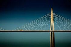 Millau viaduct, world's tallest bridge