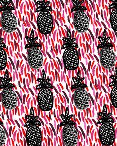 Dress up you walls! Weird Pineapples art