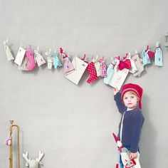 Maileg Garland Advent Calendar- I am currently making one of these