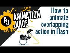 How to Animate Overlapping Action in Adobe Flash - YouTube