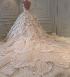 If you want Cinderella-like dress, maybe you could consider Micheal Cinco dress.  #ballgown #princessdress #weddinggown #gown