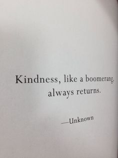 be kind today!