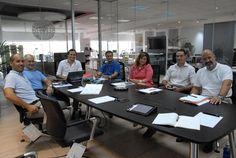 Recibimos la visita del fabricante de muebles de oficina Guialmi