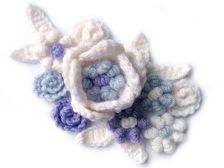 Free Pattern: Decorative Crochet Flowers from My Picot.com