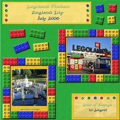 legoland windsor lego scrapbook page ideas Disney Scrapbook Pages, 12x12 Scrapbook, Scrapbook Sketches, Scrapbook Page Layouts, Travel Scrapbook, Scrapbooking Ideas, Craft Quotes, Birthday Scrapbook, Creative Memories