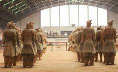 Terracota Warriors IV by Edgar Bahilo Rodríguez on Terracotta Army, Suzhou, Beijing, Warriors, China, Stone, History, Rock, Historia