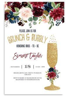 Elegant bridal shower brunch products 61 ideas for 2019 Navy Bridal Shower, Elegant Bridal Shower, Gold Bridal Showers, Bridal Shower Gifts, Cheap Bridal Shower Invitations, Elegant Invitations, Invites Wedding, Brunch Invitations, Wedding Card