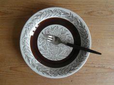 Gefle Sweden  FONTANA  tea plate  floral  by littledanishmood, kr70.00