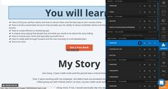Clickfunnels section editing tool clickfunnels review - Capture d   e  cran 2017 08 06 a   00 - Clickfunnels review 2017, my honest view, clickfunnels vs leadpages - photo Ways To Earn Money, Earn Money Online, Internet Entrepreneur, Marketing Plan, Ecommerce, Finding Yourself, Software, Geek Stuff, Writing