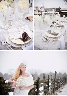 Winter Wedding Style Shoot Inspiration | WeddingWire: The Blog