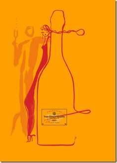 By Florence Deyga & collaboration with Veuve Clicquot champagne, 2 0 0 7. #taninotanino #vinosmaximum