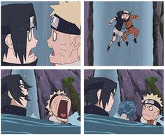 Naruto n Sasuke's 2nd kiss, non-intentional but funny either way!? I loved this episode...