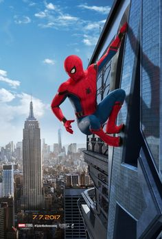 Two New 'Spider-Man: Homecoming' Movie Posters #Marvel