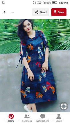 Best 12 Sleeves – Page 858991328899606864 – SkillOfKing.Com Salwar Designs, Kurti Designs Party Wear, Kurta Designs Women, Printed Kurti Designs, Sleeves Designs For Dresses, Dress Neck Designs, Frock Design, Frock Fashion, Fashion Dresses