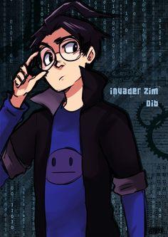 He's handsome.  INVADER ZIM :DIB: by KiiruSama on DeviantArt