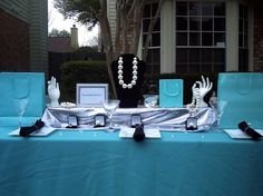 Breakfast at Tiffany's Baby/ Bridal Shower Tablescape kit on Etsy, $175.00